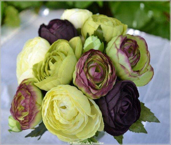 bouquet renoncule jaune