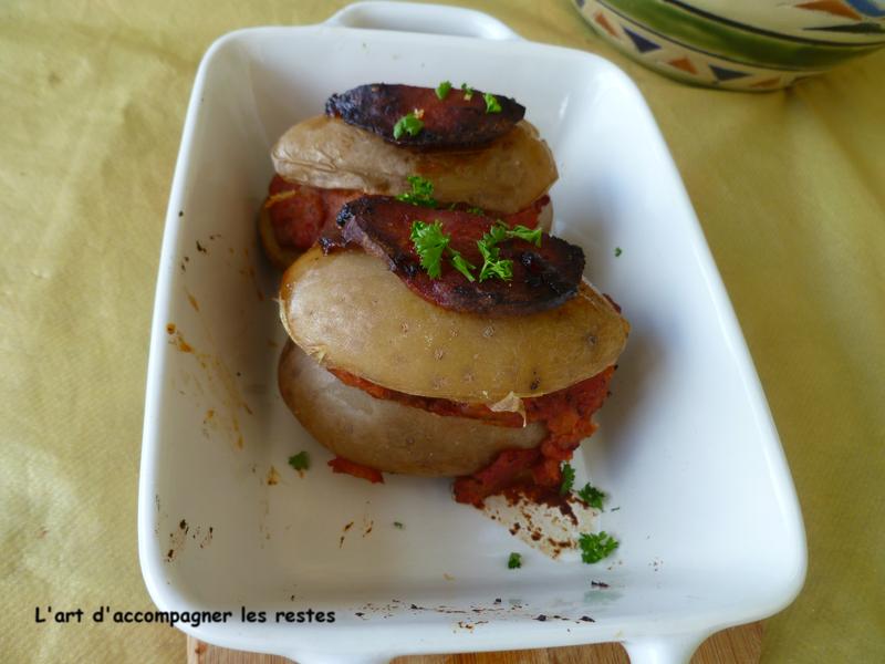 Pomme de terre à la bolognaise