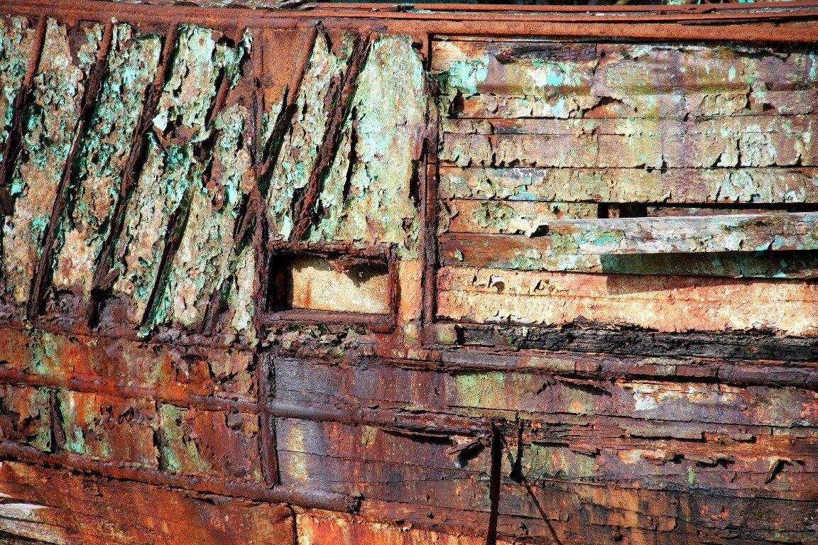 Matières, Cimetière Bateaux, Bretagne - P_7059