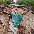 Les feuilles de raku