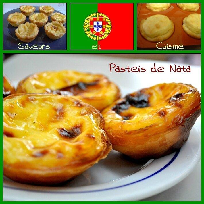 Le pastel de nata une pâtisserie typique du Portugal