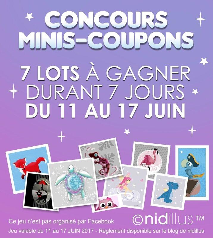 nidillus mini coupons concours1