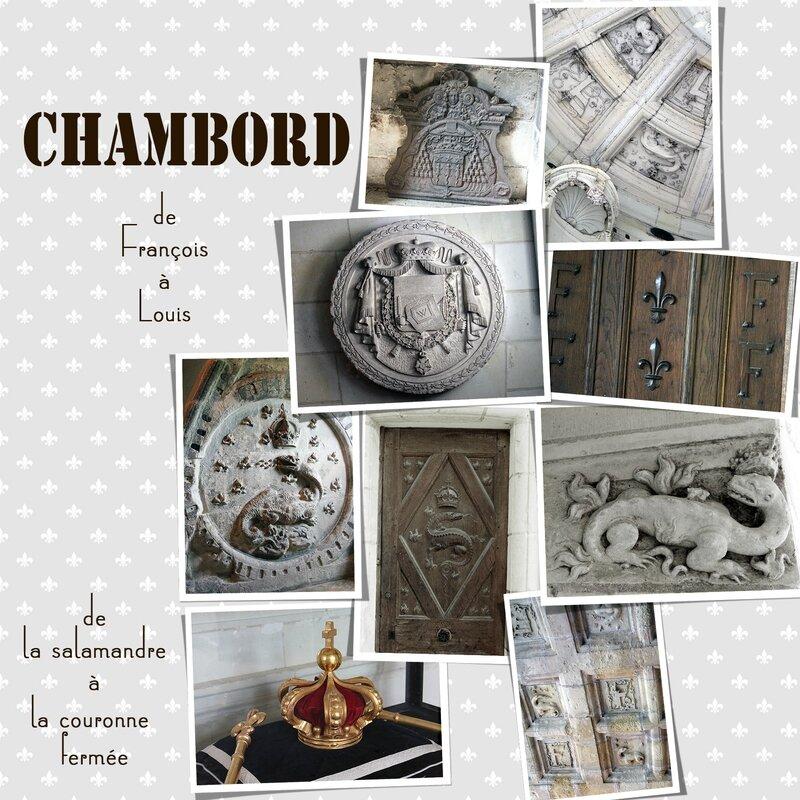 Symboles de la royauté - Chambord-1800
