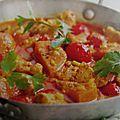 Mijote de poulet au curry facon thaie