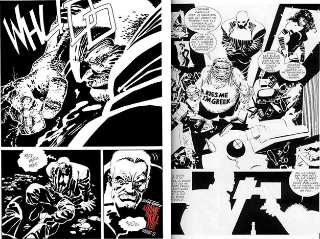 Planches Sin City 2