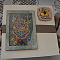 Album en scrapbooking harry potter