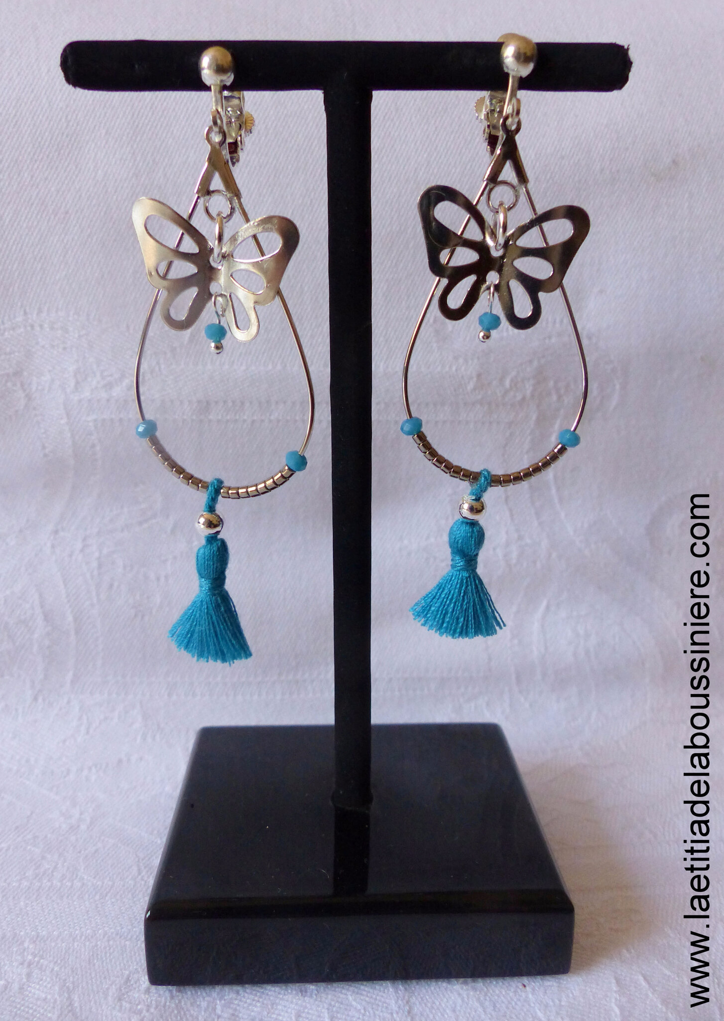 BO Papillon (bleu lagon) - 19 €