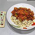 Chili végétarien et tzatziki à la grenade