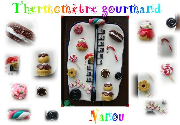 thermomètre gourmand NANOU