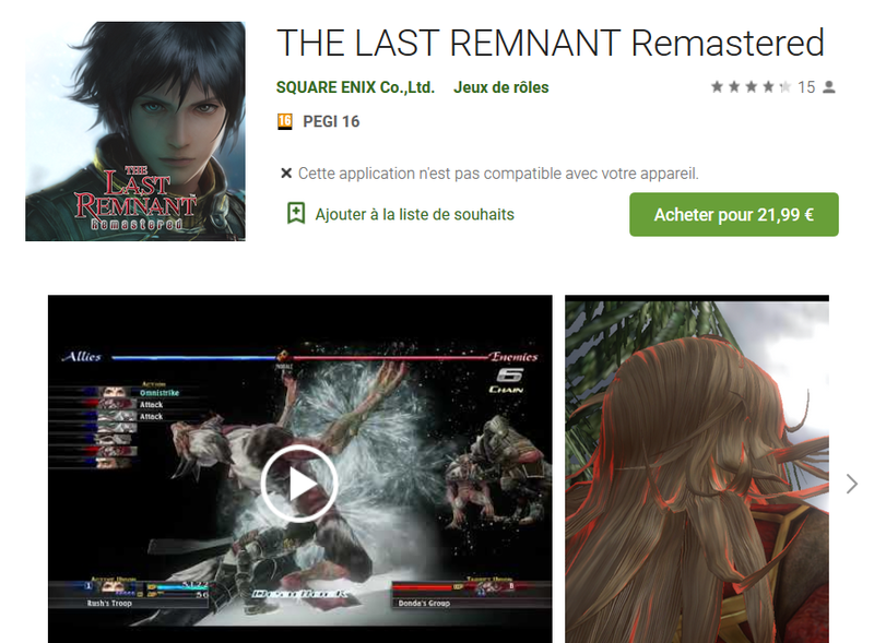 the last remnant android