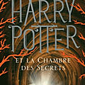 Harry potter, tome 2 : harry potter et la chambre des secrets (harry potter and the chamber of secrets) - j. k. rowling