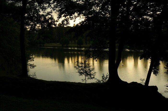 Coucher de soleil sur l'eau (2)