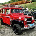 Willys jeep wagon feuerwehr 1954-1962