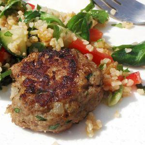 boulettes turques et salade