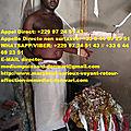Cherche un vrai et celebre voyant marabout medium reconnu africain sérieux très honnête en europe papa donwari