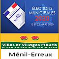 Elections municipales ménil-erreux