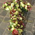 Croix Callas et Anthuriums