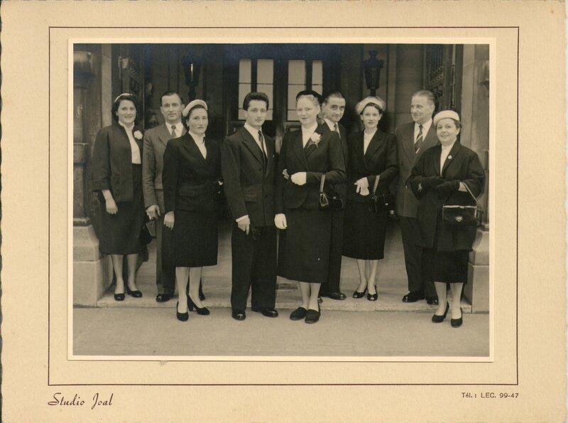 Mariage 1954