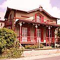 La maison rouge à Houlgate