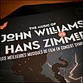 Cinéma - the music of john williams vs hans zimmer