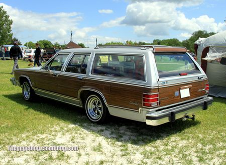 Mercury grand marquis LS colony park (Retro Meus Auto Madine 2012) 02