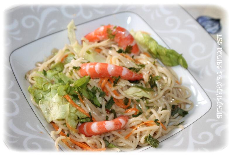 Salade chinoise 3