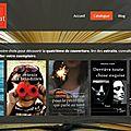 Nouvelle présentation du site des editions fin mars début avril