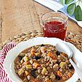 Minestrone végétarien complet au quinoa