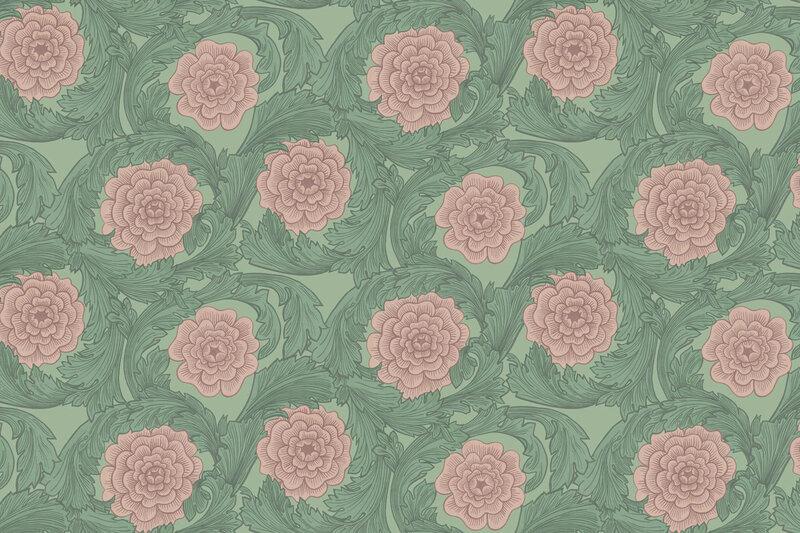 Hostens-farger-2017-gront-rosa-blomstermala-midbec-tapeter