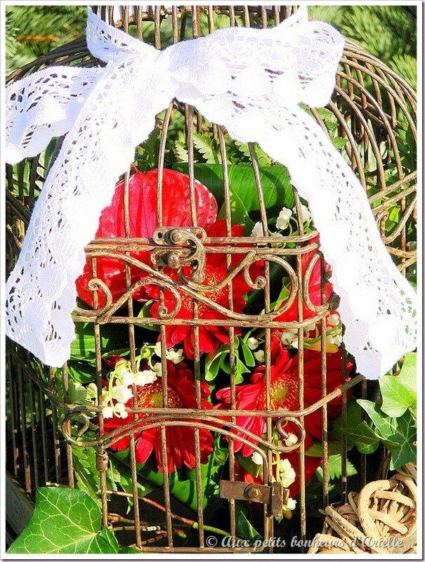 Cage à oiseaux 13 © Aux petits bonheurs d'Arielle