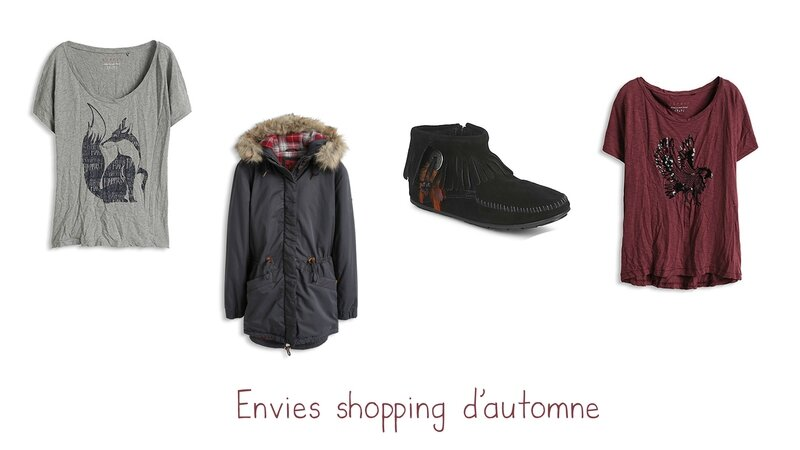 shopping automne