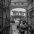 Le pont des soupirs et le grand canal