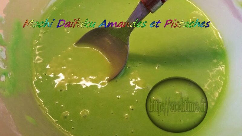 Mochi Daifuku amandes et pistaches 2