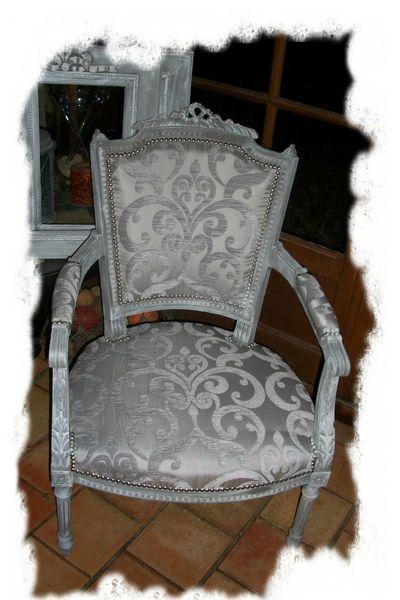 fauteuil louis xvi gris2