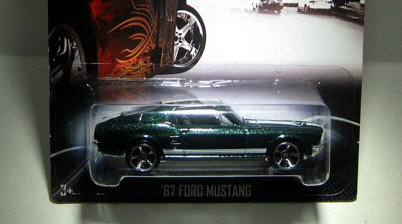 Ford mustang de 1967 (Fast & Furious) 01