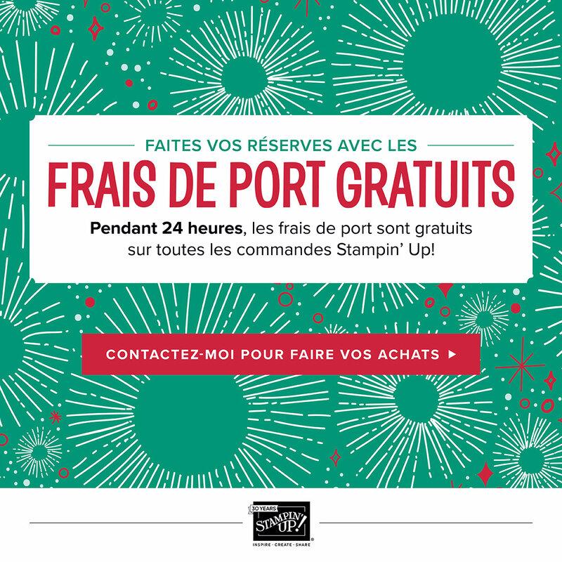 FRAIS DE PORT GRATUITS
