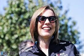 MONACO F1 2019 CLAIRE WILLIAMS BELLE