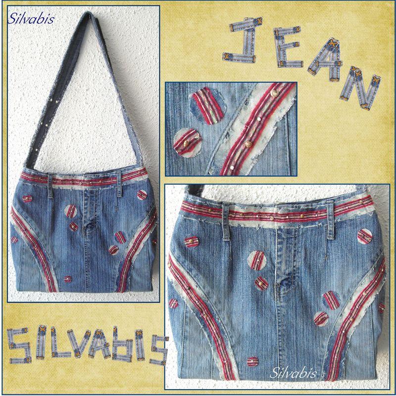 Sac jupe en jean