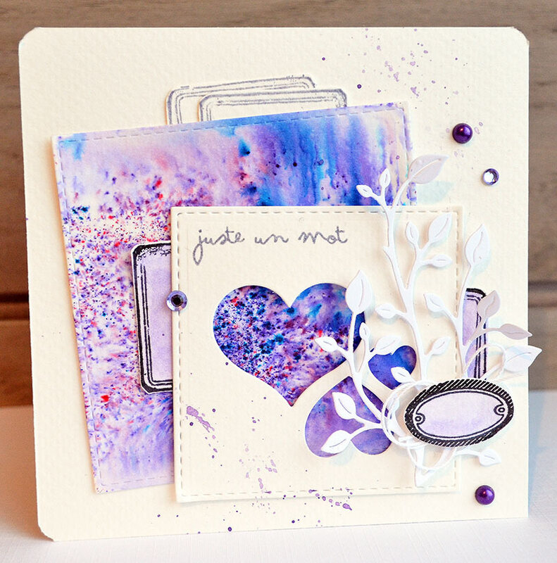 blogorel carte coeur violet