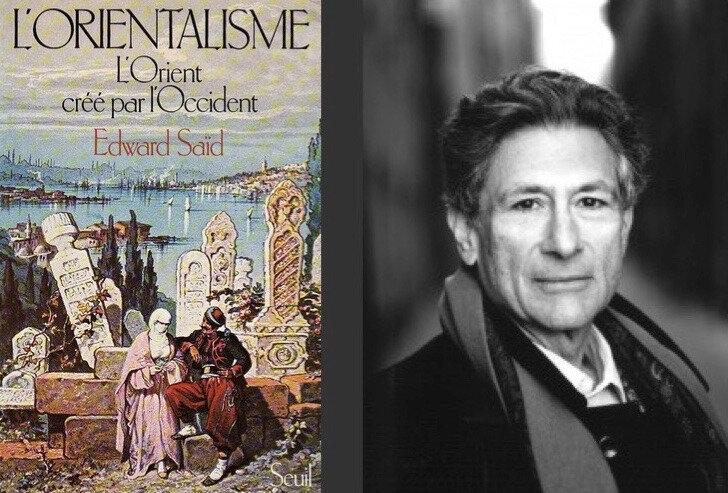 Orientalisme et Saïd, couv et portrait