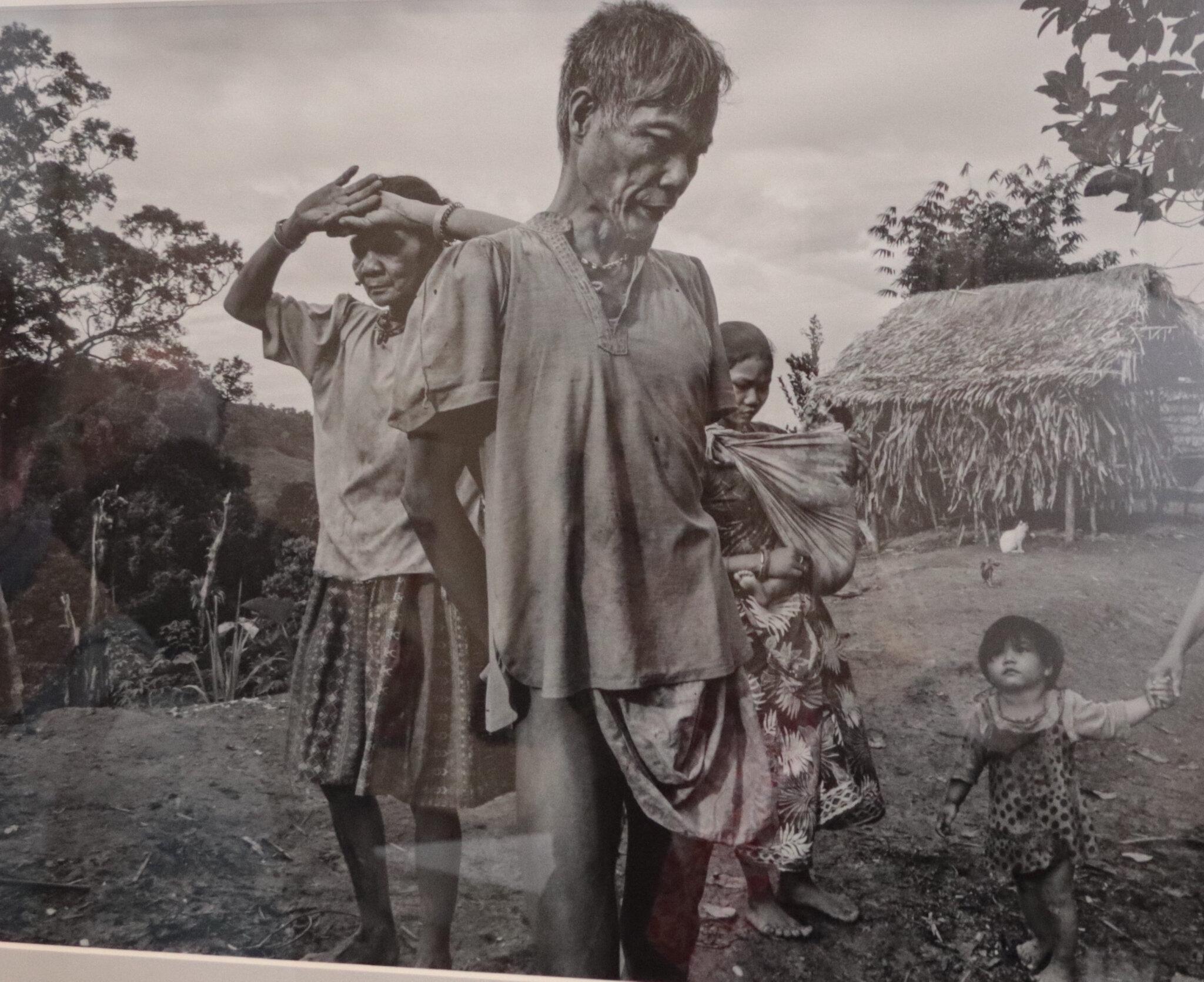 Pierre de Vallombreuse chez les Palawan, exposition au Musée de l'Homme