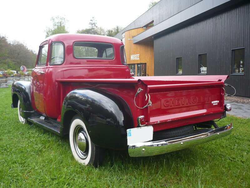 CHEVROLET 3100 2door pick-up 1953 Hohwarth (2)