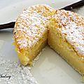 Enfin j'ai testé le gâteau magique à la vanille