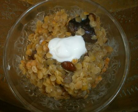 risotto lentillesss