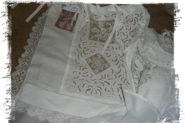 detail rideau blanc