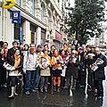 Bayrou Day : rue du temple - 7 avril 2012