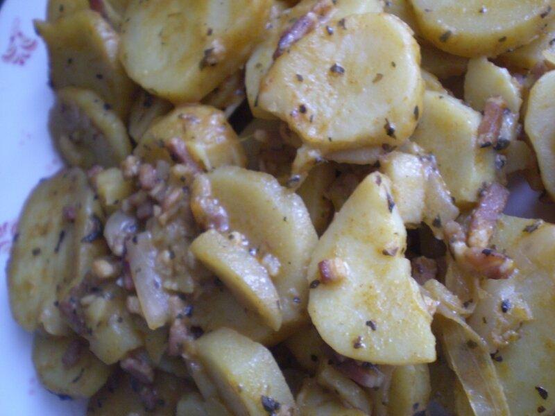 Pommes de terre sauté aux paprika