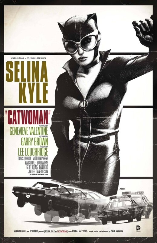 catwoman 40 movie variant
