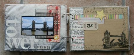 mini album souvenirs de Londres 4