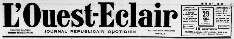 1924 le 29 mars Ouest Eclair_1